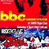 BBC Sound System: 3 April at Soho
