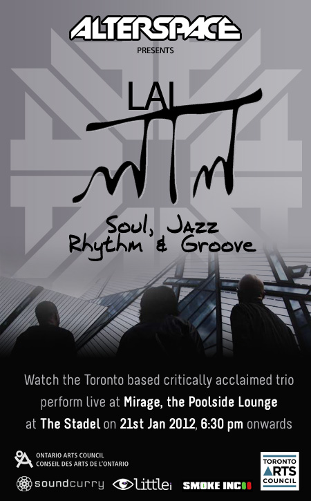 LAL (Canada) – Live at ALTERSPACE KOLKATA: 21 January 2012